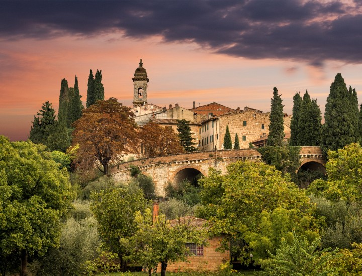 Autumn vacation in Tuscany