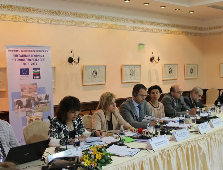 Четиринадесетото официално заседание на Комитета за наблюдение на ОПРР