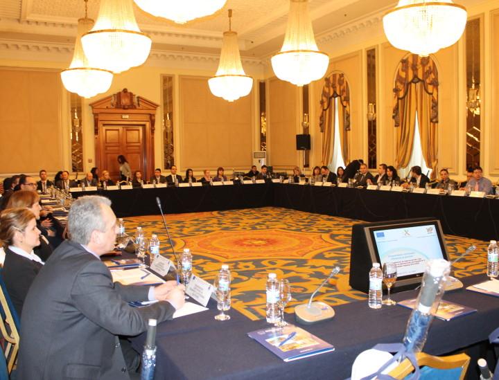 Кръгла маса за обсъждане на механизмите за изпълнение на финансови инструменти с подкрепата на Оперативна програма «Региони в растеж»