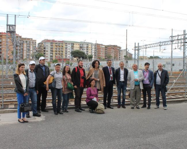 Посещение за обмяна на опит в УЖИ на Италия – RFI