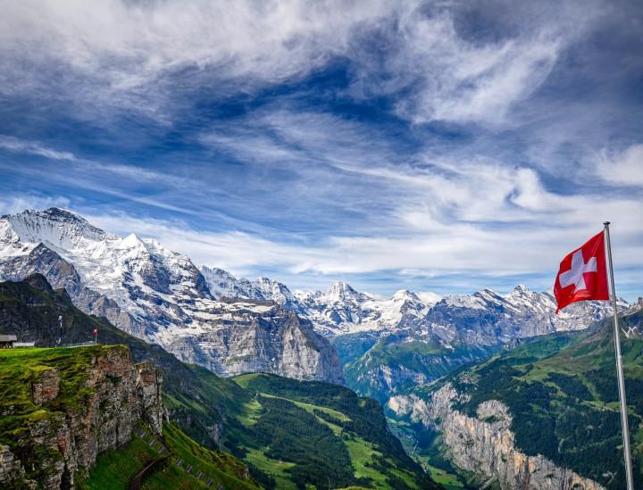 Швейцария и Швейцарските Алпи