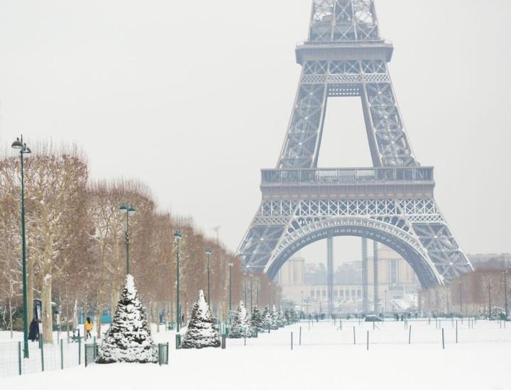 Коледа – Париж – духът на Монмартър