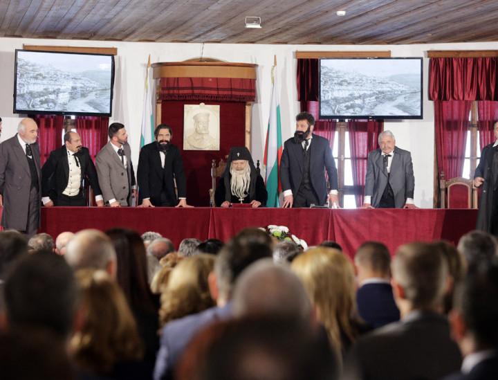 140 години от Учредителното събрание и подписването на Търновската конституция