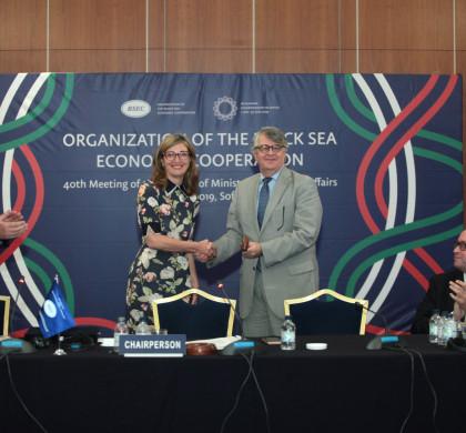 Срещата на външните министри от държавите членки на Организацията за Черноморско и икономическо сътрудничество