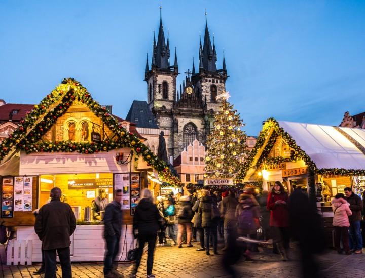 Коледа 2019 в Прага и Карлови Вари